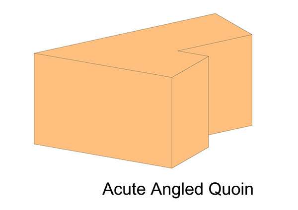 Acute Angled Quoin
